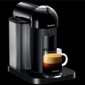 Nespresso Vertuo Black Round Head Coffee Machine